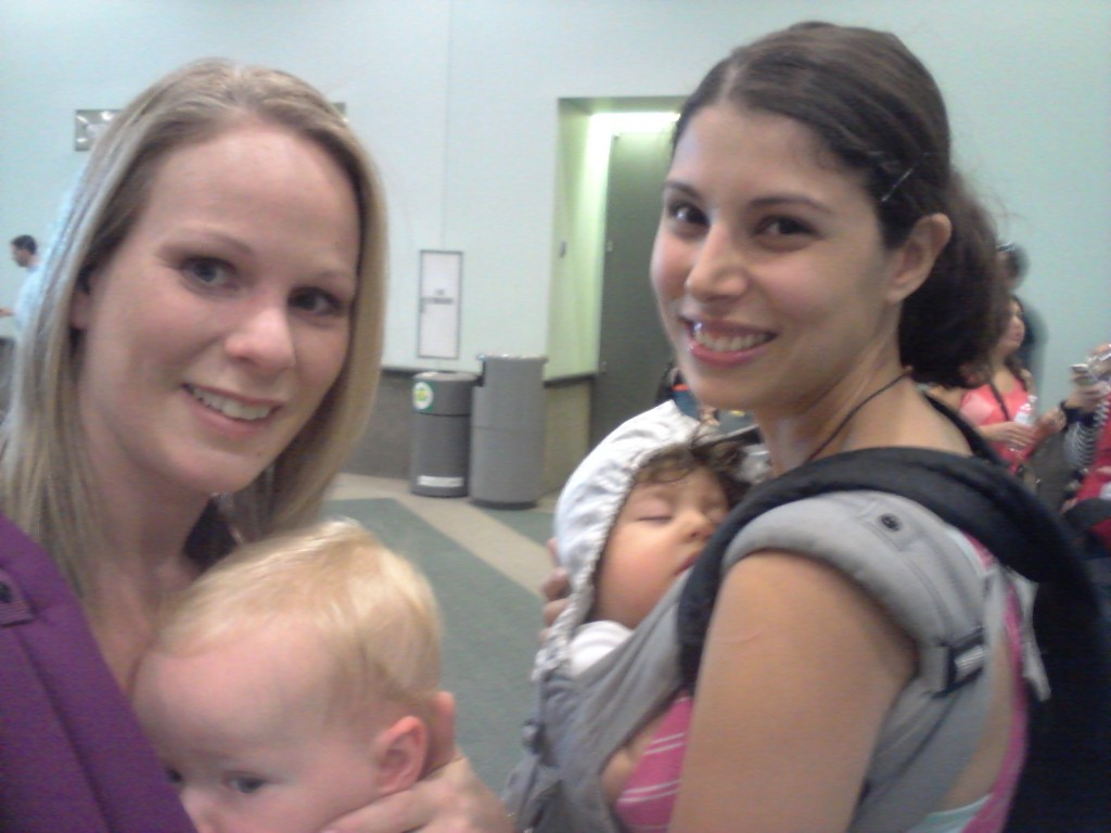 Abby Theuring, The Badass Breastfeeder, at MommyCon.