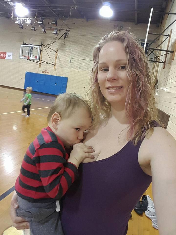 Abby Theuring, The Badass Breastfeeder, breastfeeding in public.